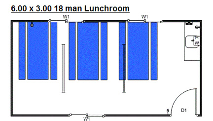 6x3 lunchroom